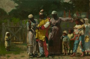 Working Title/Artist: Dressing for the Carnival<br /> Department: Am. Paintings / Sculpture<br /> Culture/Period/Location:<br /> HB/TOA Date Code:<br /> Working Date: 1877<br /> photography by mma, DP140859.tif<br /> retouched by film and media (jnc) 9_2_09